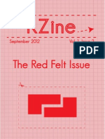 KZine; Volume 1, Issue 2; The Red Felt Issue