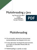 Java y Multi Threading