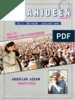 MUJAHIDEEN,Hekmatyar & Azzam Assasination