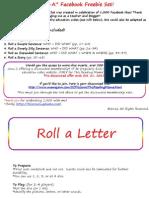Roll AFacebookFreebiePack