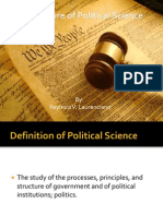 The Nature of Political Science- by Reynora v. Laurenciano