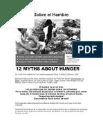 12 Mitos Contra El Hambre