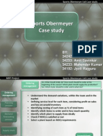 supply chain process sport obermeyer forecasting