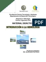 Introducci+¦n a la Hidrolog+¡a