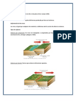 Fractura, Fallas y Diaclasas