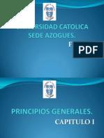 CAPITULO 1PRINCIPIOS GENERALES