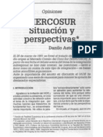 Astori, - D. Mercosur.situaciones y Perspectivas