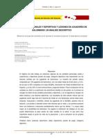 VARIABLES PERSONALES Y DEPORTIVAS Y LESIONES EN JUGADORES DE BALONMANO