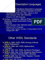 Elec5200 Vhdl Overview