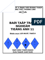 Bai Tap Tieng Anh 11 (Unit Based)