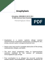 Anaphylaxis Hana