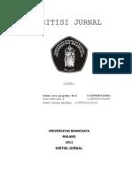 Kritikal Jurnal Kel. 1 (Nova)