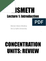 Insmeth Lecture 1.2