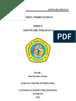 Modul Software Terapan I (2010)