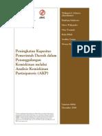 Peningkatan Kapasitas Pemerintah Daerah dalam Penanggulangan Kemiskinan melalui Analisis Kemiskinan Partisipatoris (AKP)