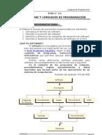 Separata 01 Software y Lenguajes de Programación