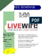 Java Script Seminar
