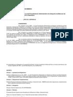 Reglamento 010-2005-Mimdes -Reglamento de La Ley No. 26981