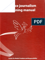 Peace Journalism Training Manual