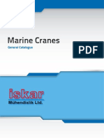 Iskar Ltd. Marine Deck Cranes