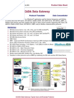 SCADA Data Gateway Fact Sheet