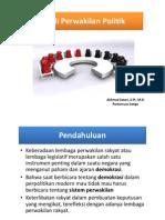 Pengenalan Studi Perwakilan Politik