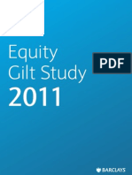 Barclays Equity Gilt Study 2011