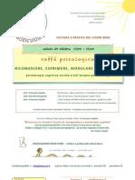 RICONOSCERE, ESPRIMERE, MODULARE LE EMOZIONI psicoterapia cognitiva sociale e arti terapie per psicologi