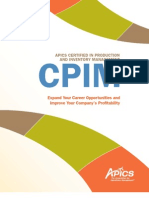 CPIM Brochure