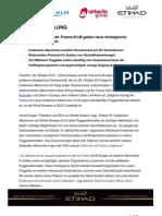 Press Release Etihad Airways Air France-KLM PDF