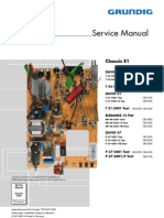 Grundig tv Chassis e1 Service Manual