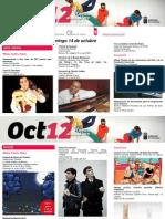 Agenda Cultural Canarias, semana 8-14 oct