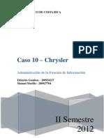 Caso 10 - Chrysler