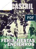 Libro Fiestas Castril 2012