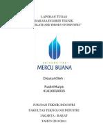 Laporan Tugas-bahasa Enggris Teknik-translate and Theory Industrial,Rudini,Dkk.