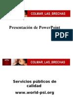 SP Presentation Gaps