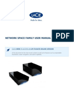 Lacie Network Space Family User Manual