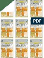 Kertas A4 ID Card Panitia Dan Peserta