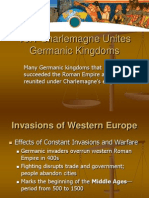 13.1 Charlemagne Unites Germanic Kingdoms