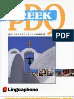 Linguaphone PDQ Greek Book