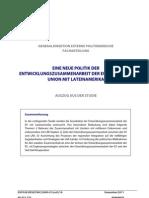 Die Entwicklungszusammenarbeit der EU mit Lateinamerika
