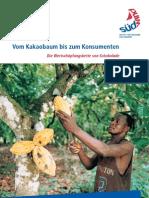 Vom Kakaobaum bis zum Konsumenten. Die Wertschöpfungskette von Schokolade