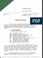 FBI Criminal investigation Report about MEK