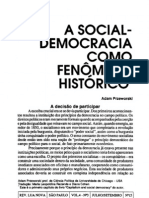 PRZEWORSKI, Adam - Capitalismo e Social Democracia