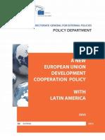 EU Development Cooperation With Latin America