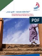 Jede Geht, Warum Nicht Du. Arbeitsmigration Westafrikanischer Frauen