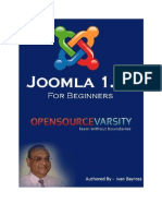 PDF eBooks Joomla1.5 for Beginners eBook
