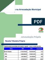 0.024012001291640283 Eficiencia Na Arrecadacao Municipal Alexandre Alves