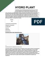Micro Hydro Plant
