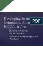 developing strategic community alliances vhea website